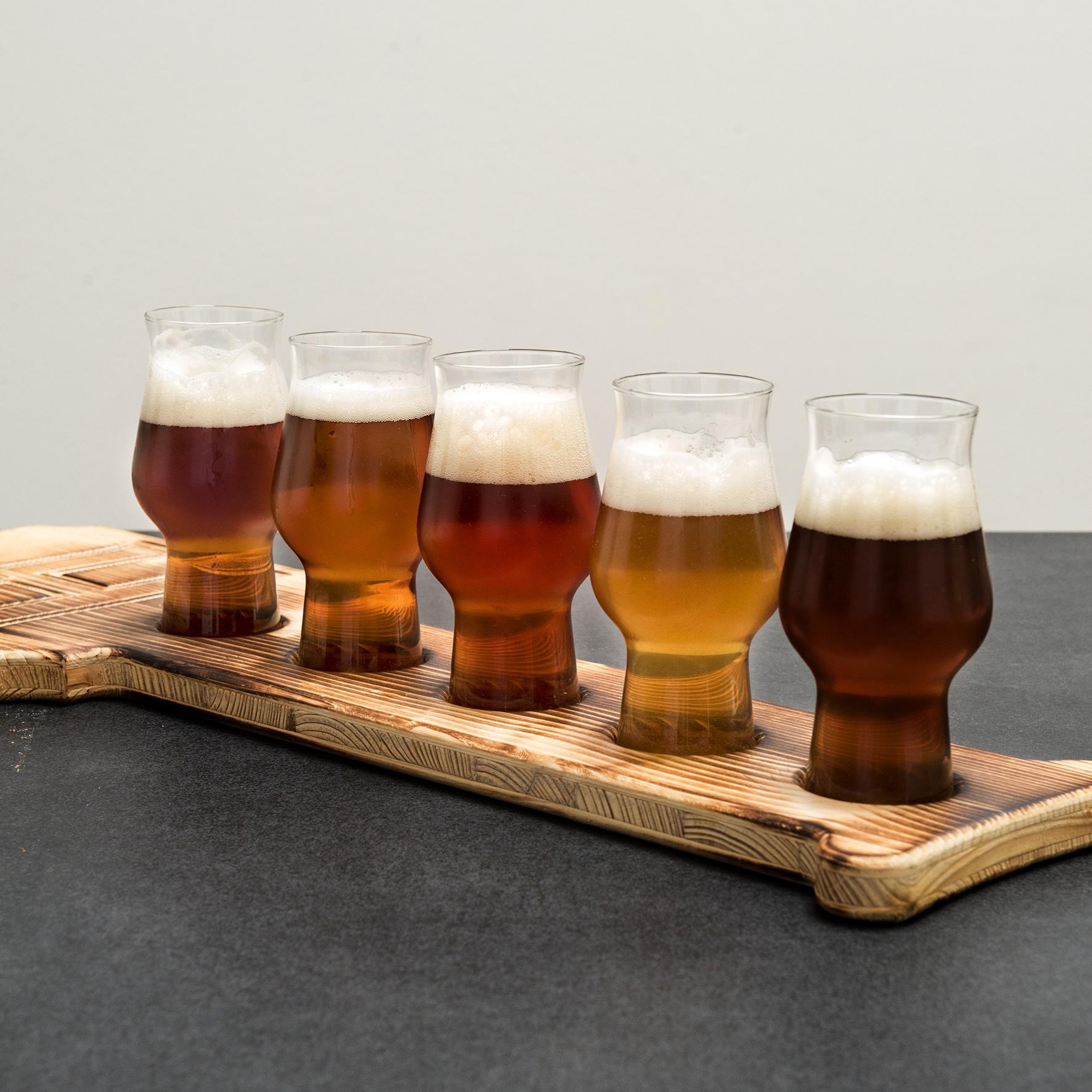 Hövels Original – Fanartikel Bier-Tasting-Brett kaufen (Hausbrauerei Dortmund)