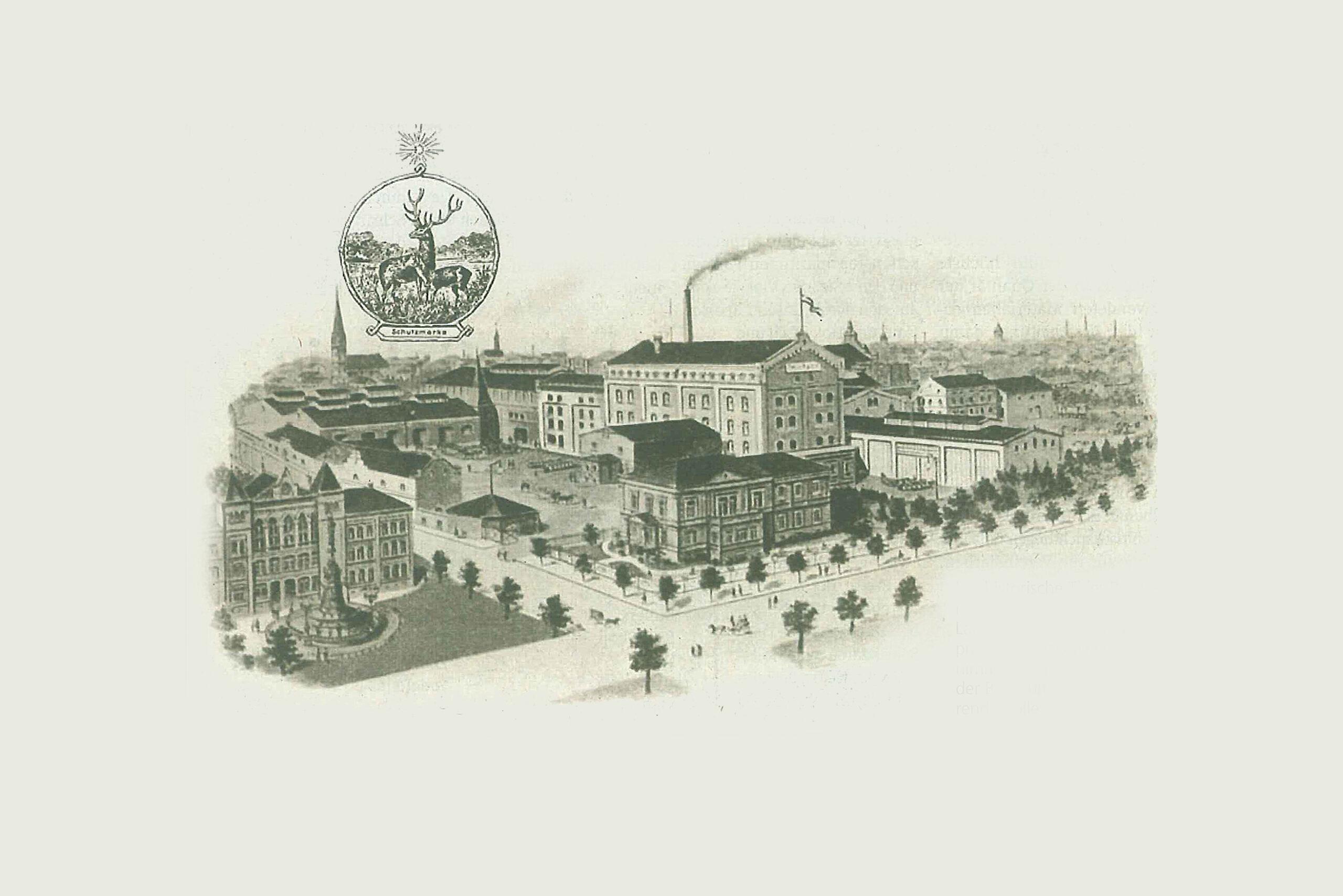 Historische Hier Brauerei (Dortmund Hoher Wall) – heute Hövels Hausbrauerei