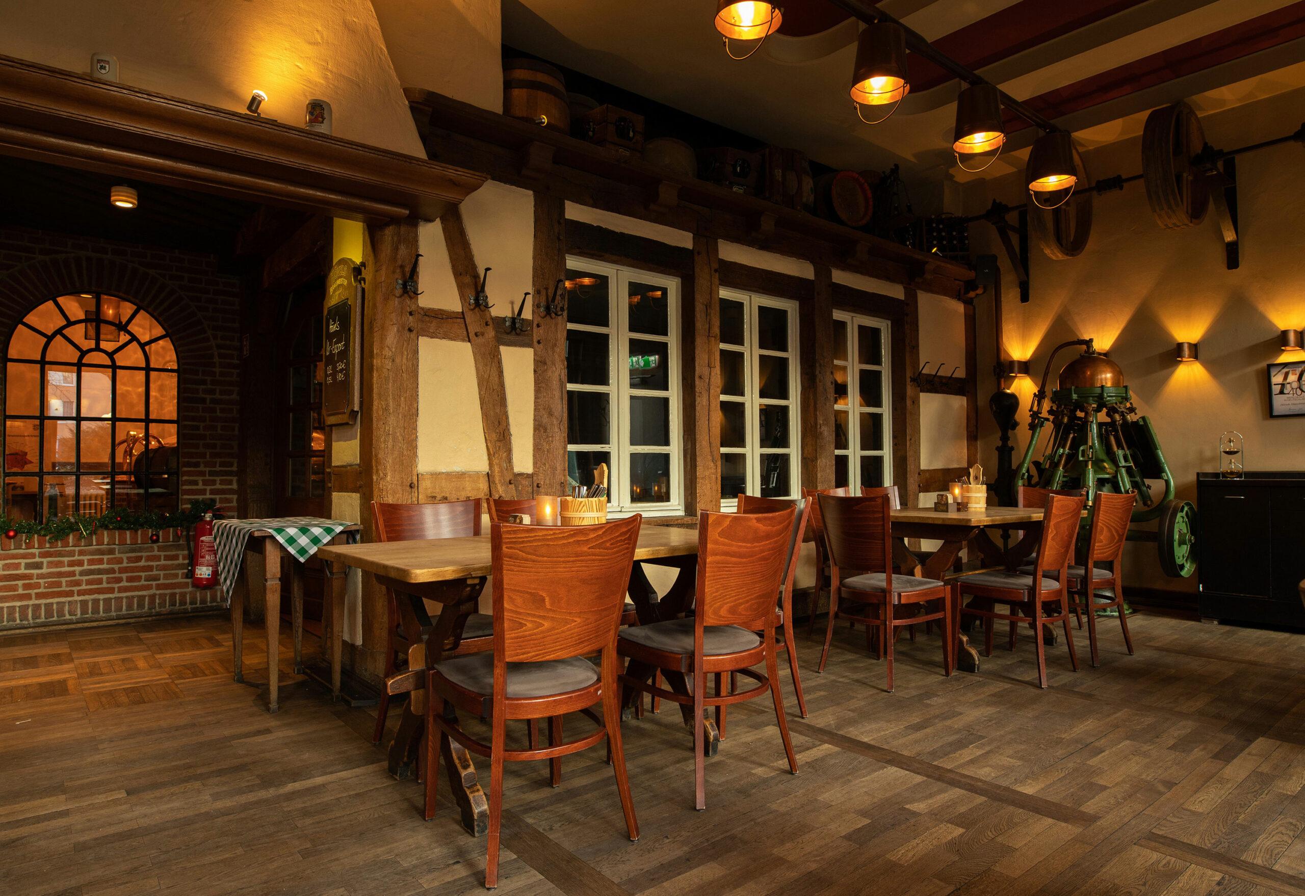 Gastraum, Gaststube Hövels Hausbrauerei Restaurant Dortmund